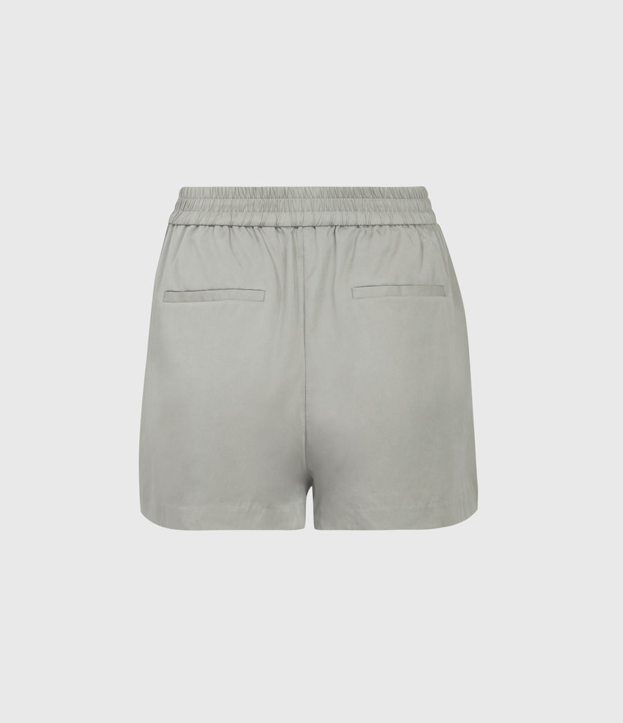Women's Alva Low-Rise Shorts (khaki) - Image 2