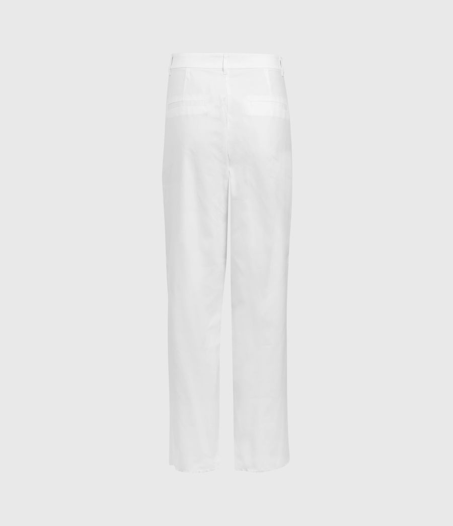 Women's Emi High-Rise Trousers (off_white) - Image 3