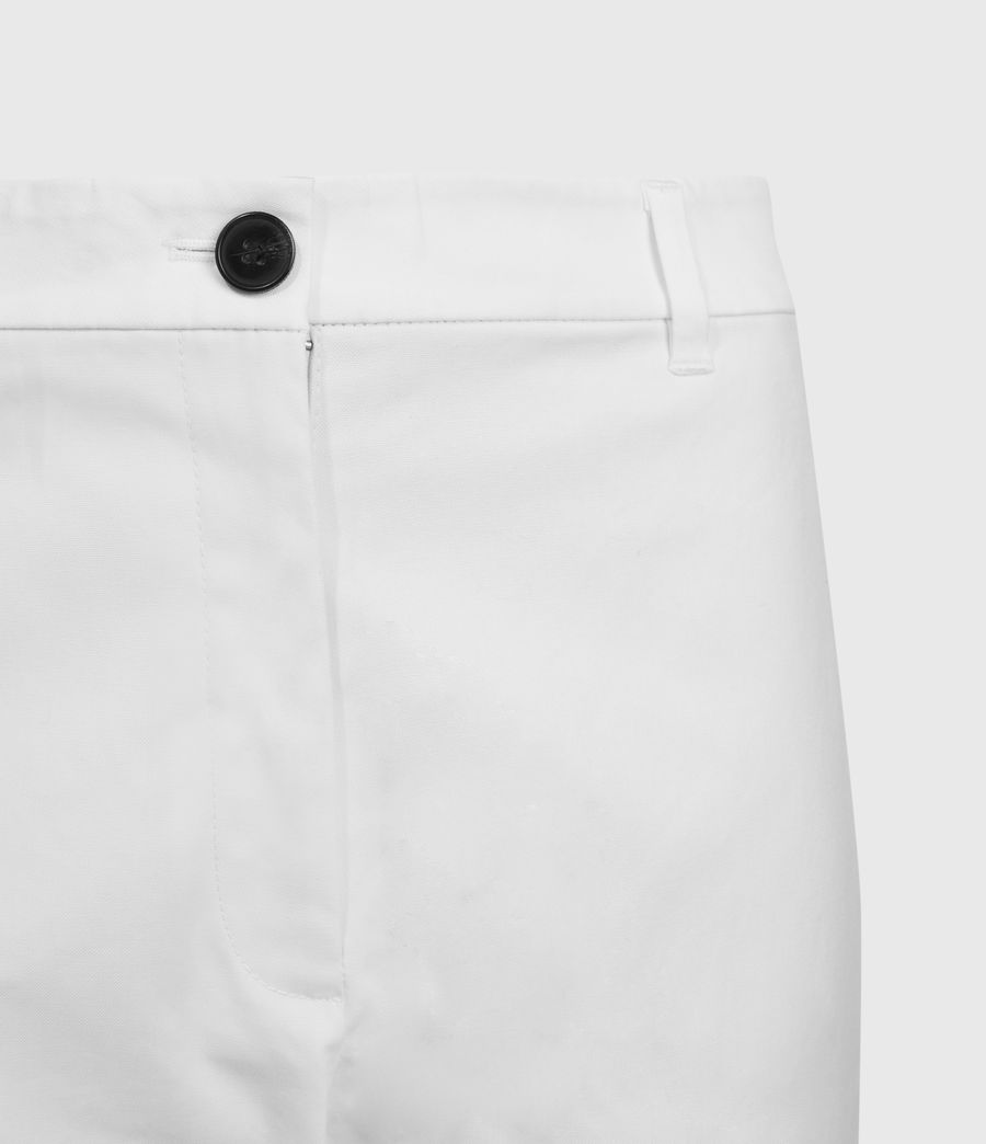 Women's Emi High-Rise Trousers (off_white) - Image 4