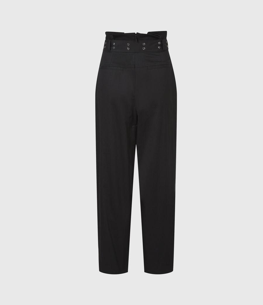 Women's Ali High-Rise Trousers (black) - Image 4