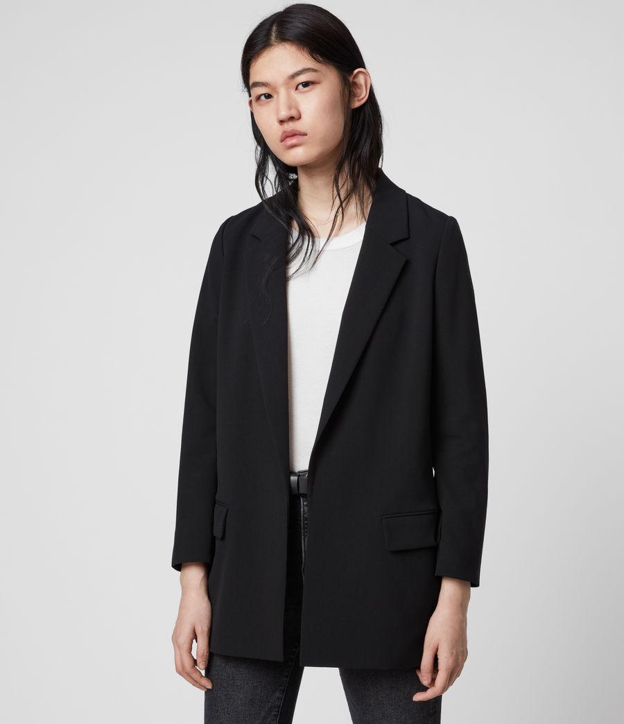 Womens Aleida Tri Blazer (black) - Image 3