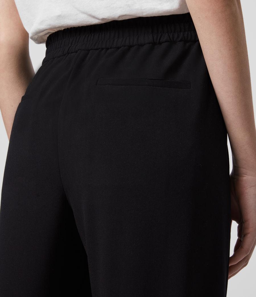 Women's Aleida Tri Low-Rise Trousers (black) - Image 5