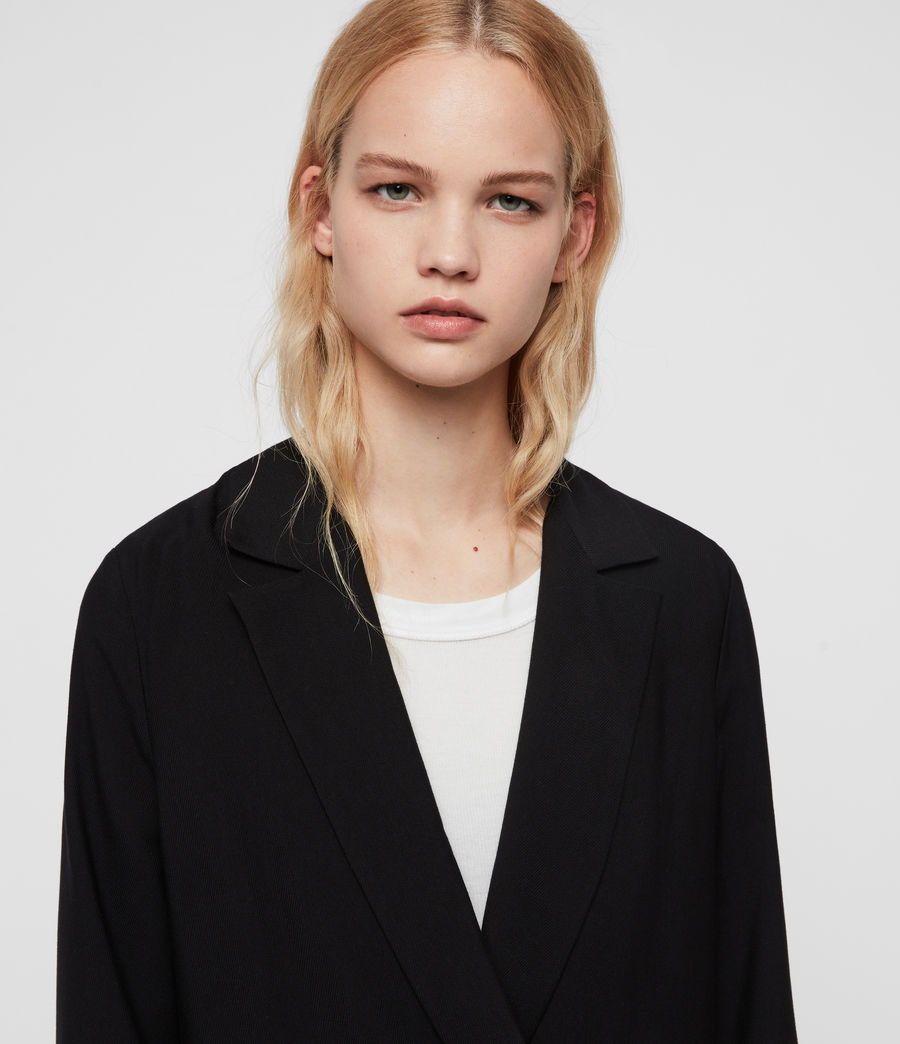 Women's Elora Blazer (black) - Image 3