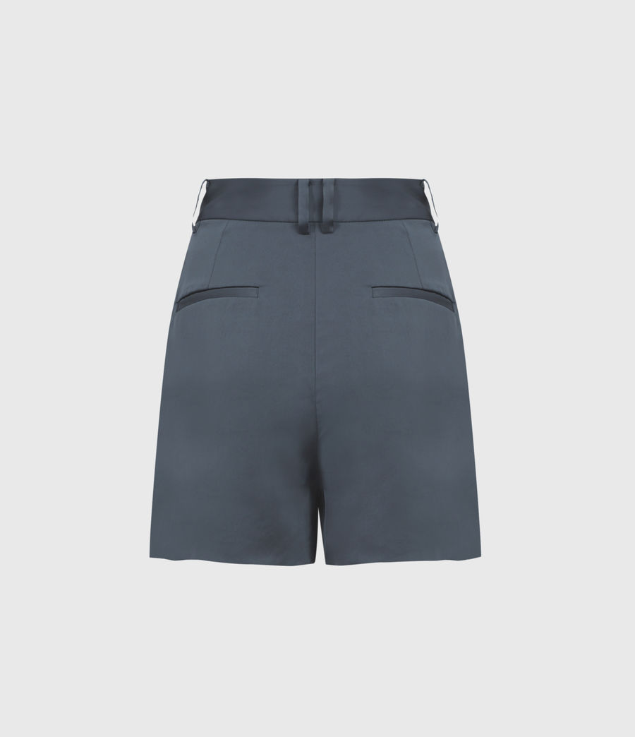 Women's Rafaella High-Rise Shorts (blue) - Image 3