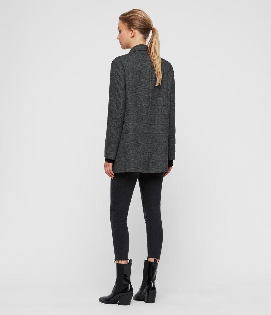 Femmes Blazer Gris à Carreaux Anneka (grey_black) - Image 6