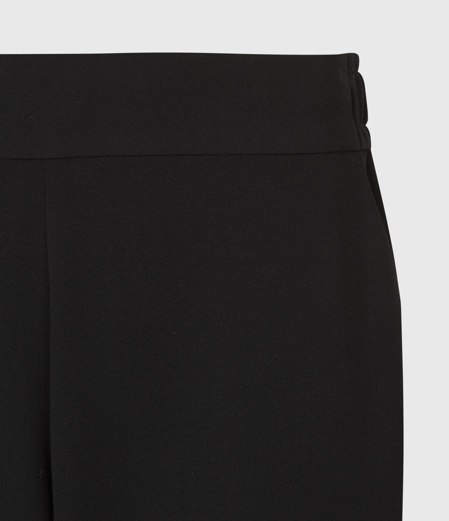 Women's Soraya Mid-Rise Trousers (black) - Image 5