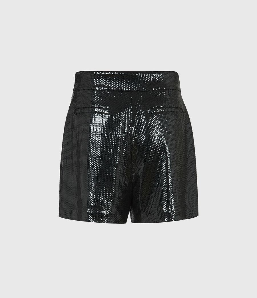 Womens Leanna High-Rise Shorts (petrol_blue) - Image 3