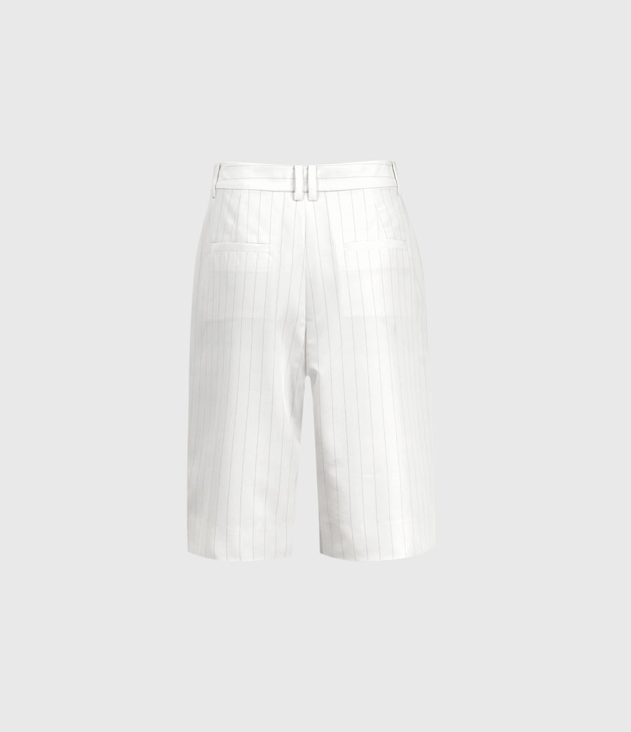 Mujer Clea Mid-Rise Shorts (white_black) - Image 2