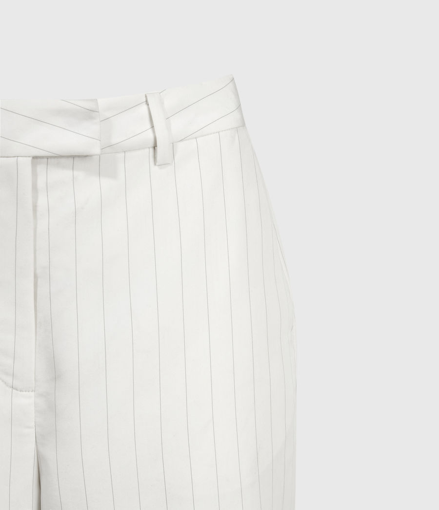Mujer Clea Mid-Rise Shorts (white_black) - Image 3