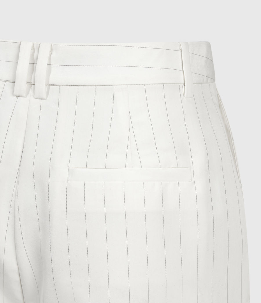 Mujer Clea Mid-Rise Shorts (white_black) - Image 4