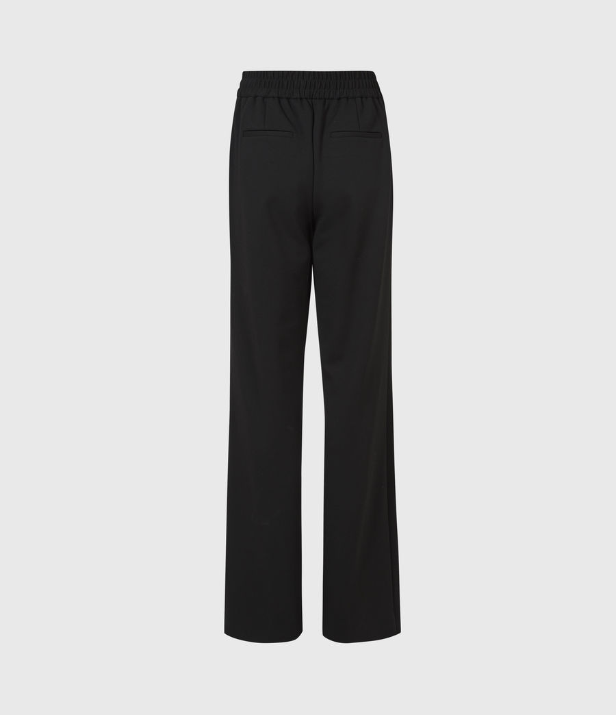 Womens Millie High-Rise Relaxed Pants (black) - Image 3