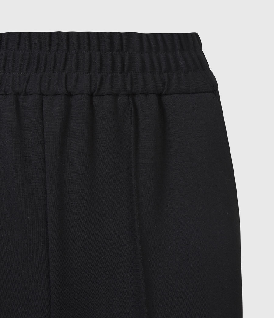 Womens Millie High-Rise Relaxed Pants (black) - Image 5