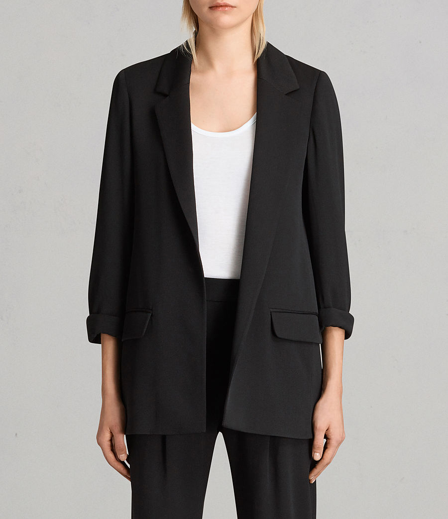 Women's Aleida Blazer (black) - Image 1