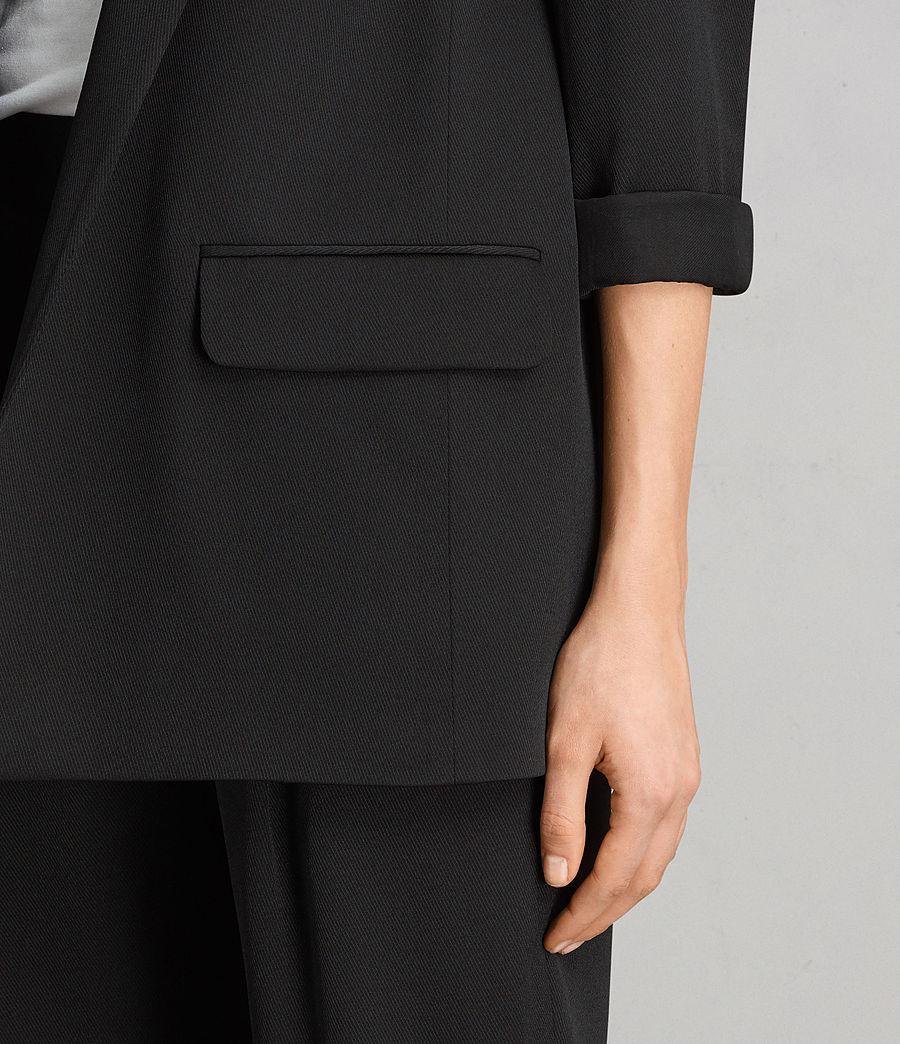Womens Aleida Blazer (black) - Image 2