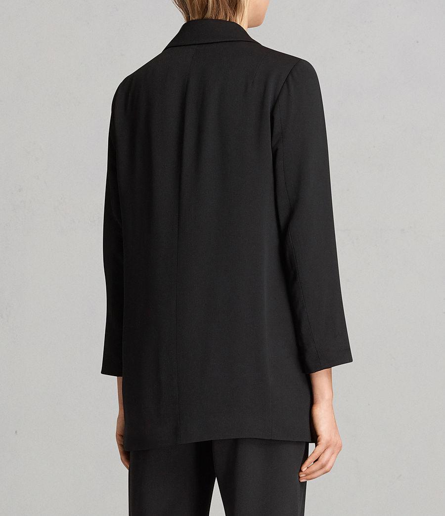 Women's Aleida Blazer (black) - Image 4