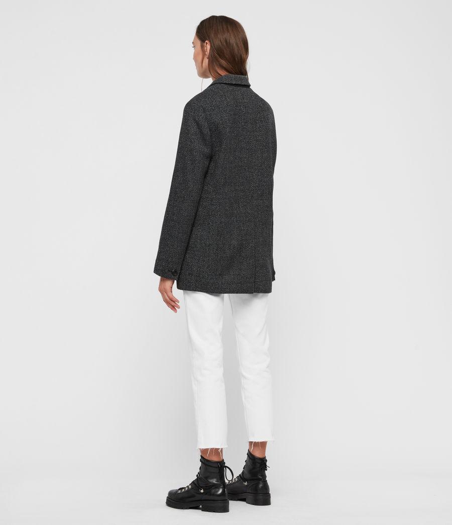 Donne Blazer Rowen Ili - Sartoriale oversize doppiopetto (black_white) - Image 7