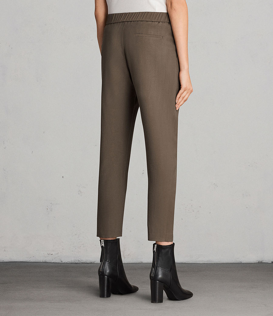 Women's Aleida Trousers (khaki_green) - Image 3