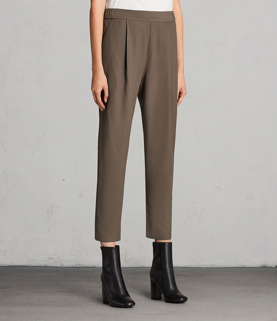 Women's Aleida Trousers (khaki_green) - Image 4