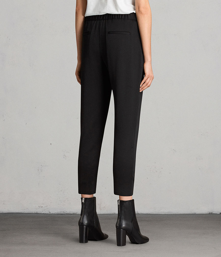 Women's Aleida Trousers (black) - Image 3