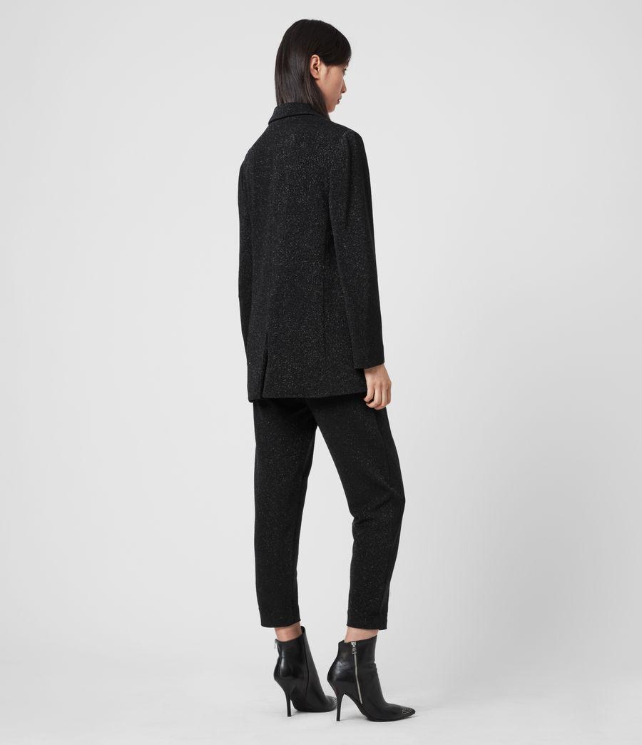 Femmes Blazer à Paillettes Aleida (black) - Image 5
