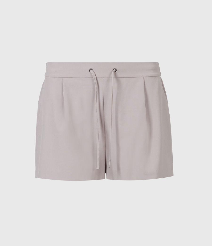 Womens Aleida Tri Mid-Rise Shorts (dusty_pink) - Image 2