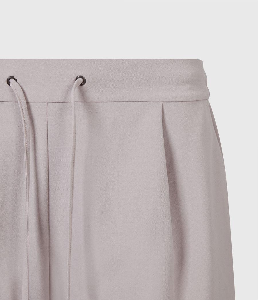 Womens Aleida Tri Mid-Rise Shorts (dusty_pink) - Image 5