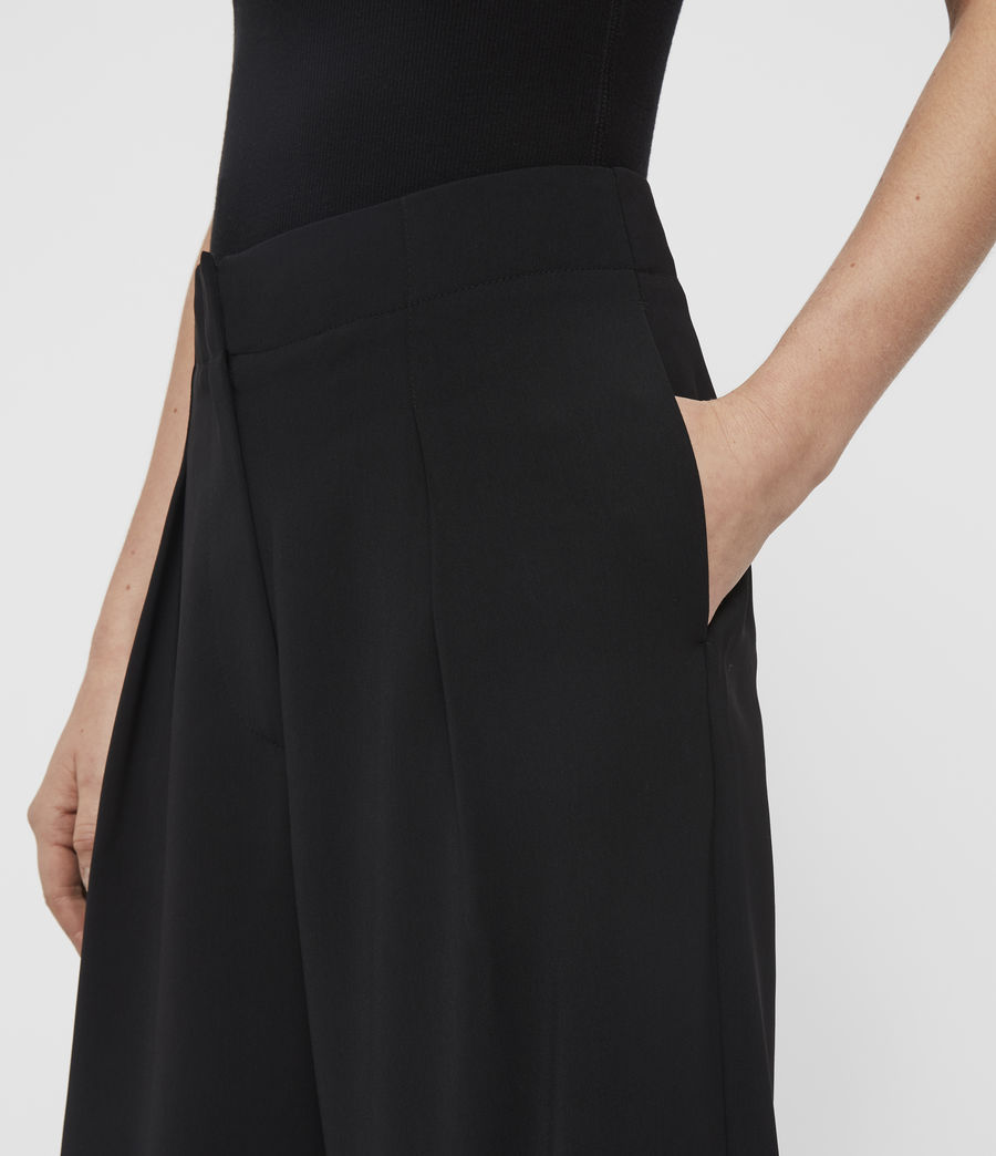 Women's Sienna Trousers (black) - Image 2