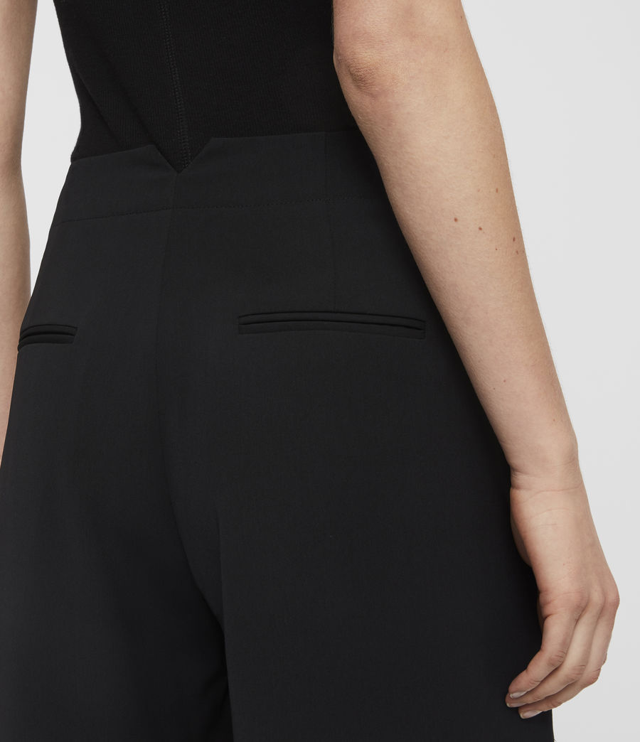 Women's Sienna Trousers (black) - Image 5