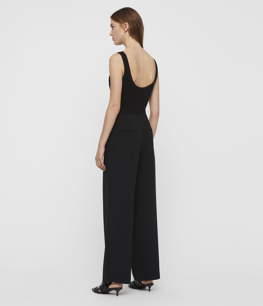 Women's Sienna Trousers (black) - Image 6