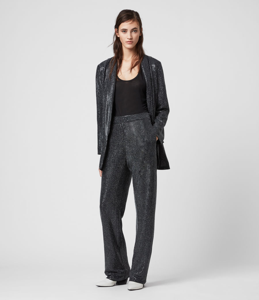 Women's Leanna Trousers (gunmetal_grey) - Image 1