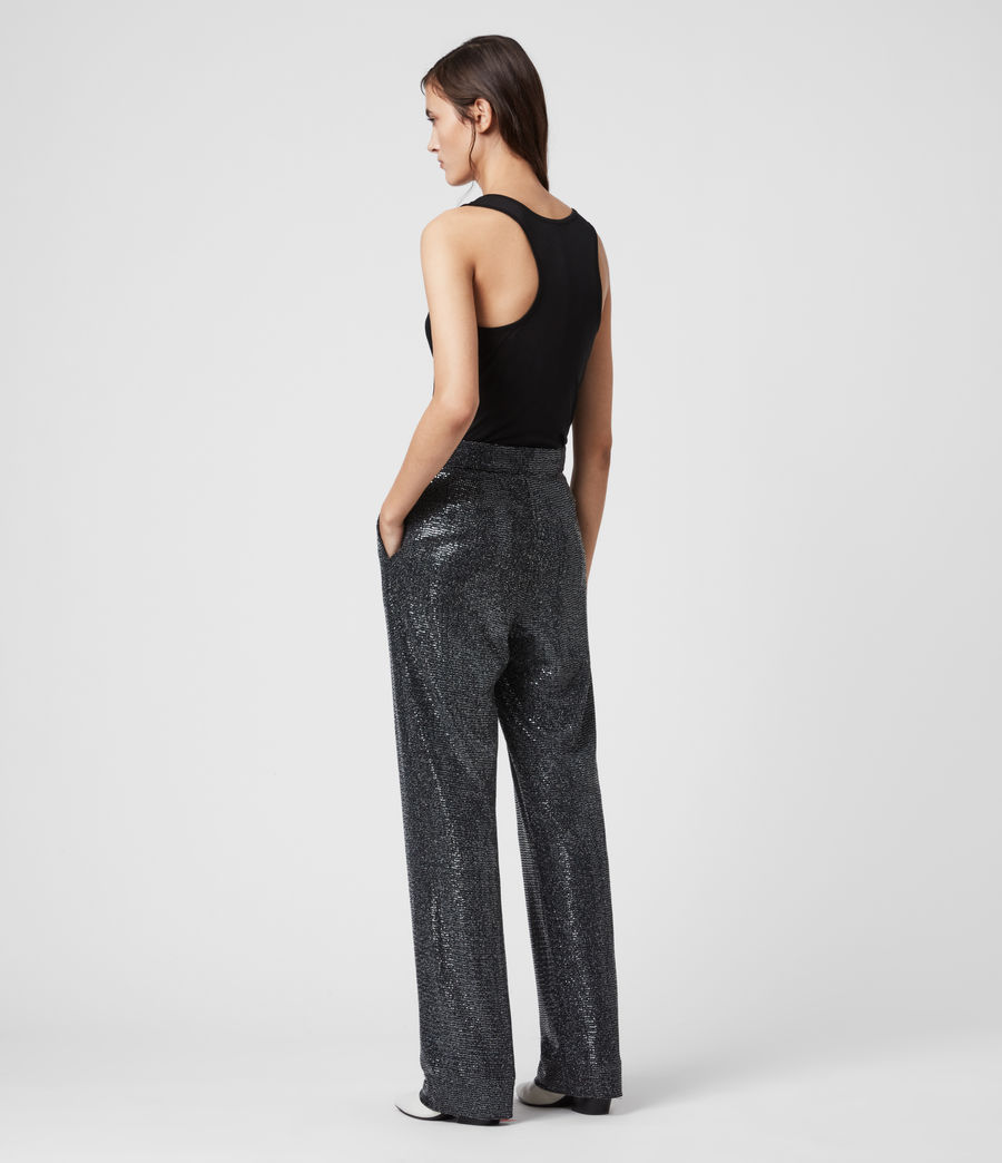 Women's Leanna Trousers (gunmetal_grey) - Image 5