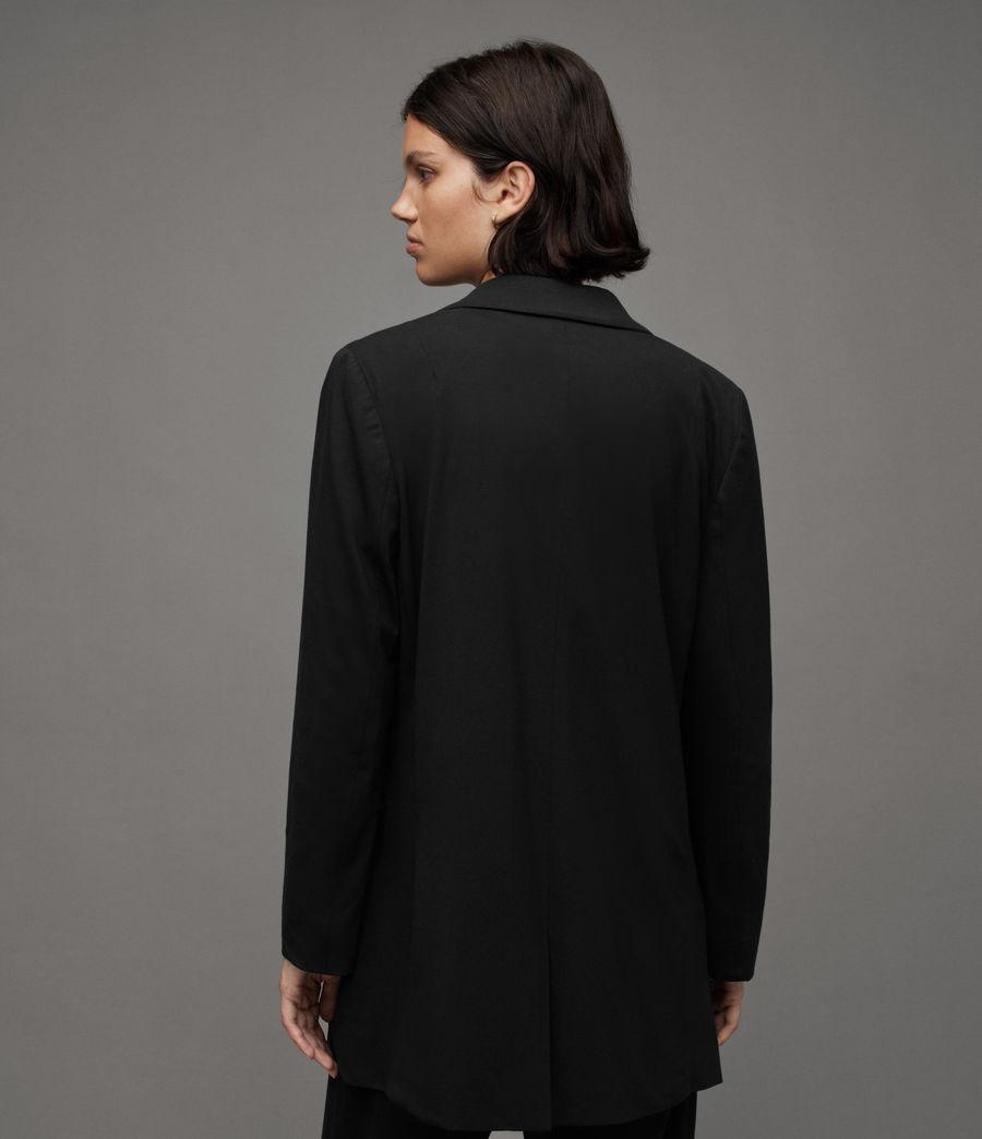 Women's Aleida Jersey Blazer (black) - Image 4