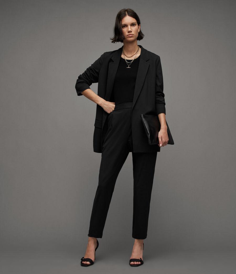 Women's Aleida Jersey Trousers (black) - Image 1