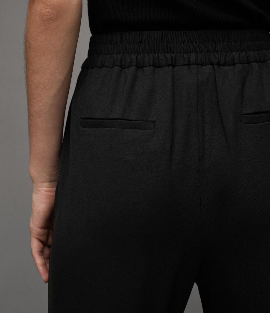 Women's Aleida Jersey Trousers (black) - Image 4