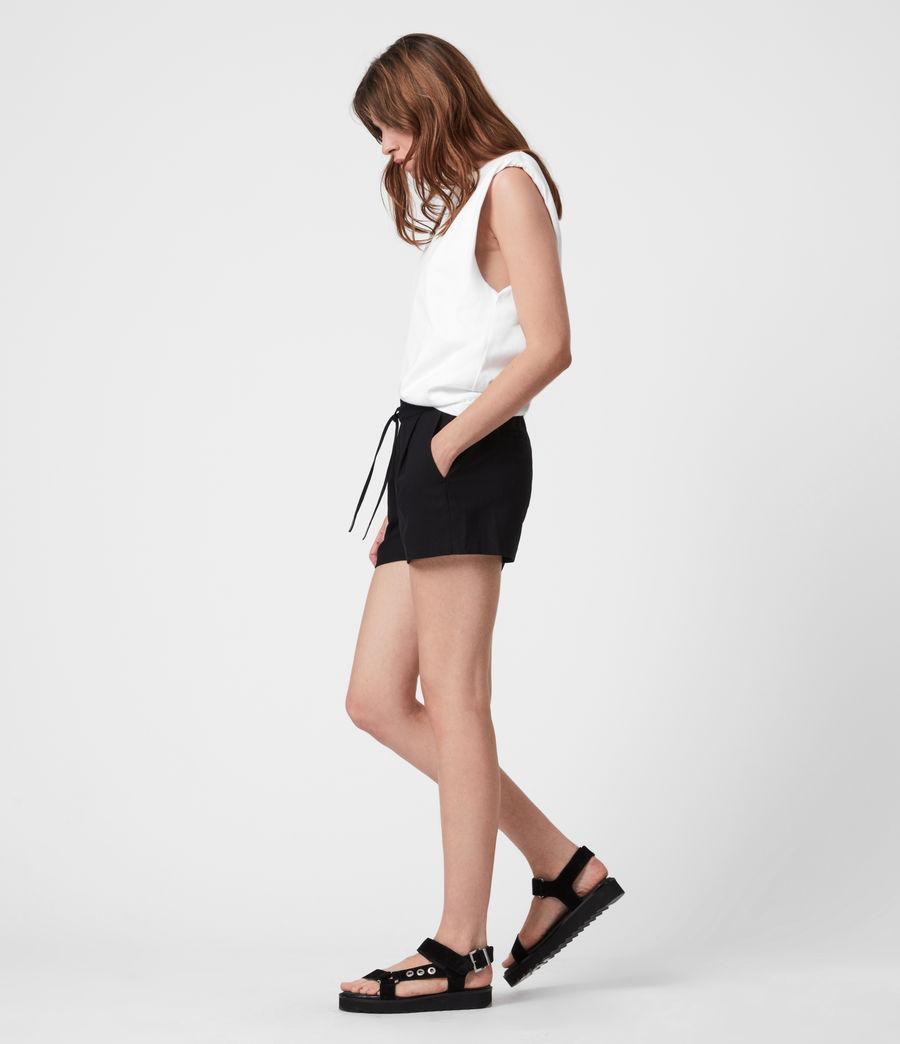 Womens Aleida Shorts (black) - Image 1