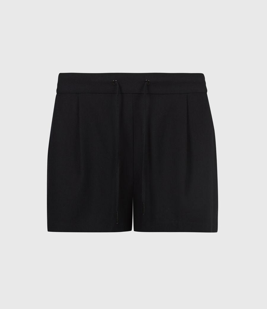 Womens Aleida Shorts (black) - Image 2