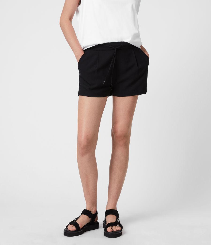 Womens Aleida Shorts (black) - Image 4