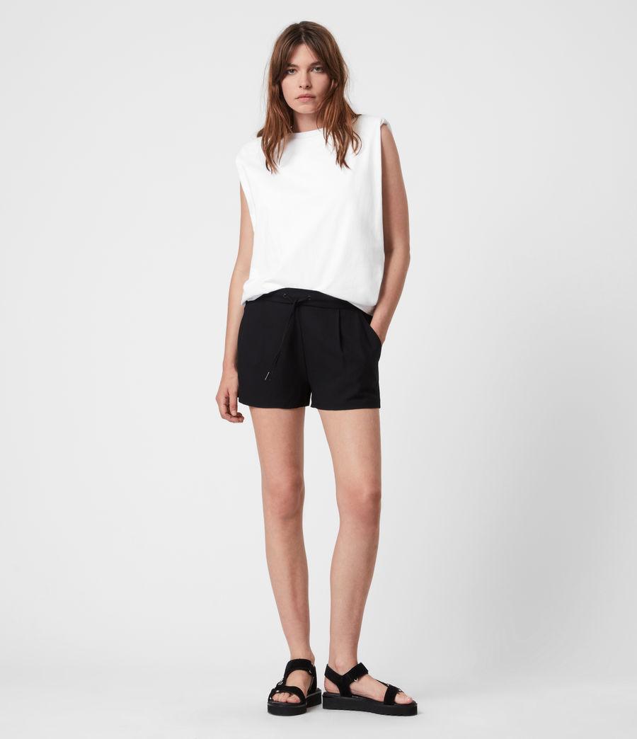 Womens Aleida Shorts (black) - Image 6