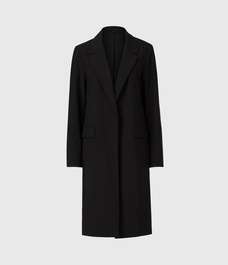 Womens Aleida Tri Duster Blazer (black) - Image 2