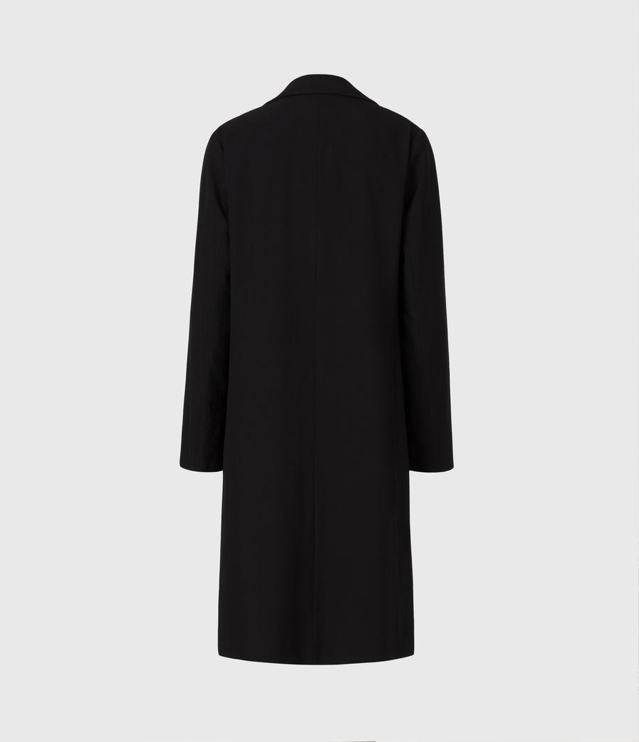 Womens Aleida Tri Duster Blazer (black) - Image 3