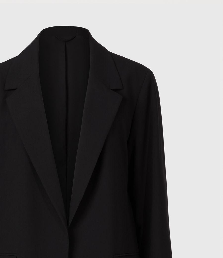 Womens Aleida Tri Duster Blazer (black) - Image 5