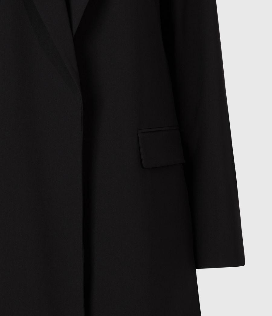 Womens Aleida Tri Duster Blazer (black) - Image 6