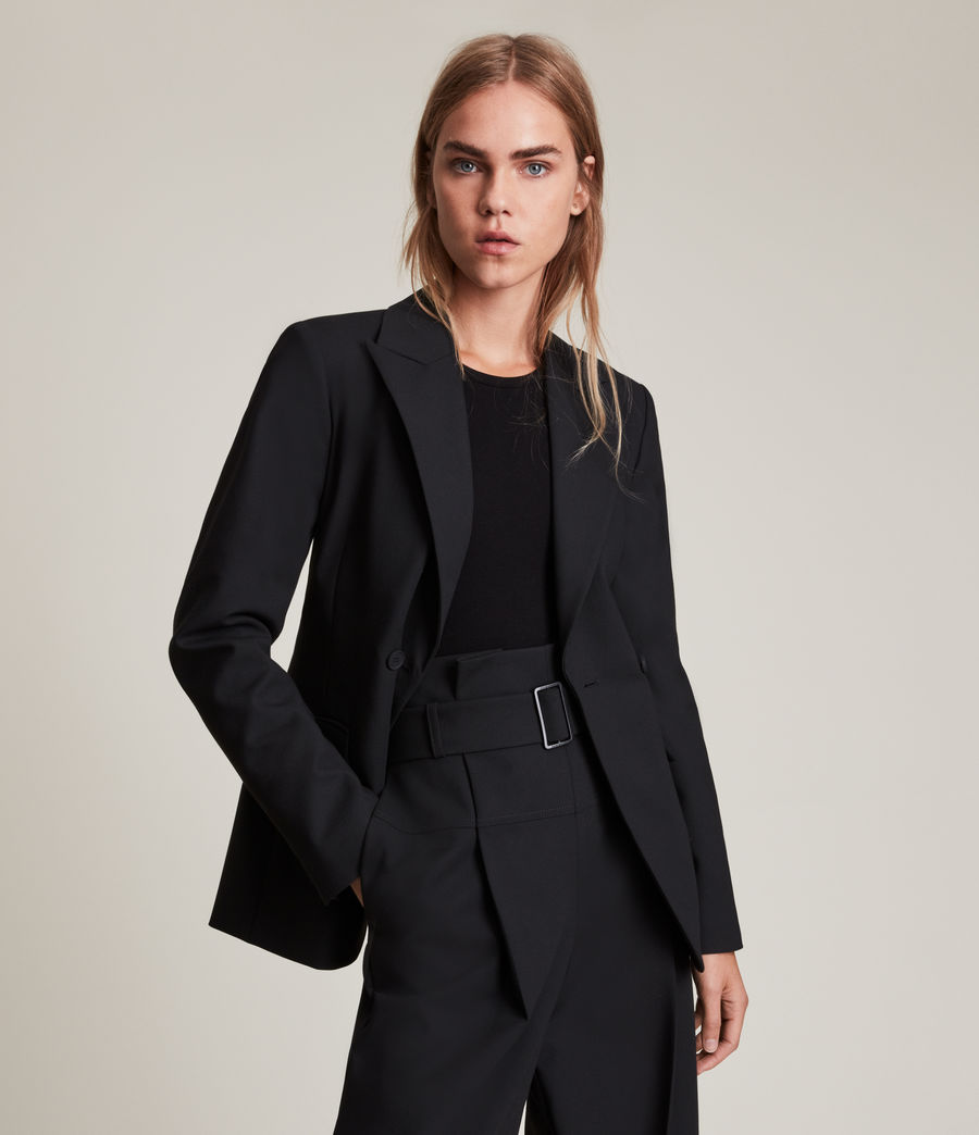 Womens Afia Blazer (black) - Image 1