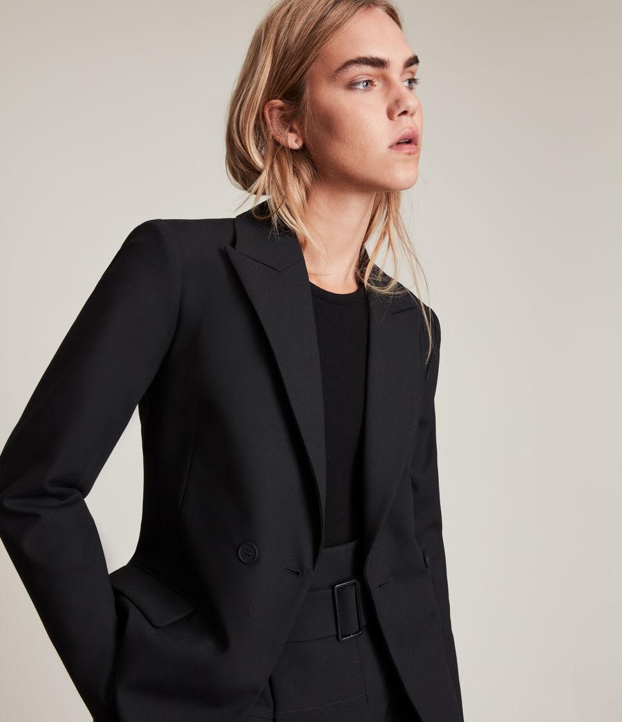 Womens Afia Blazer (black) - Image 2