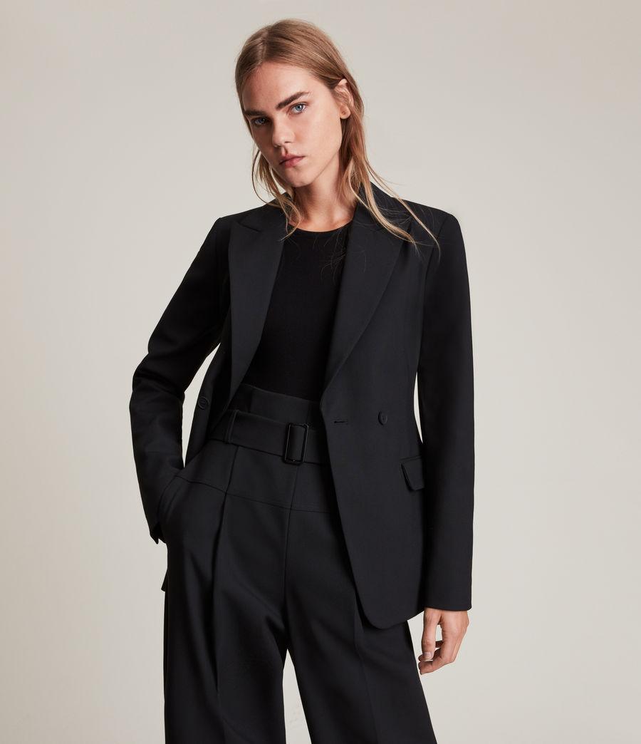 Womens Afia Blazer (black) - Image 4