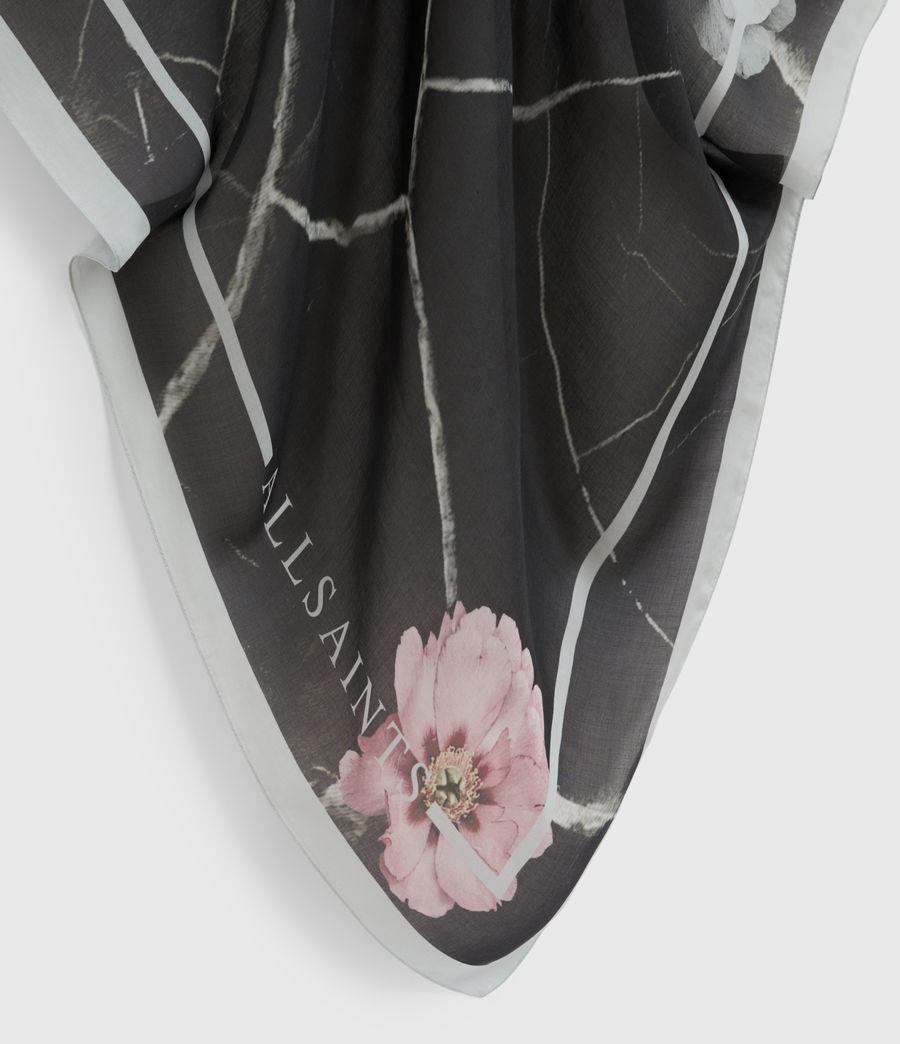 Women's Hope Large Scarf (black) - Image 3