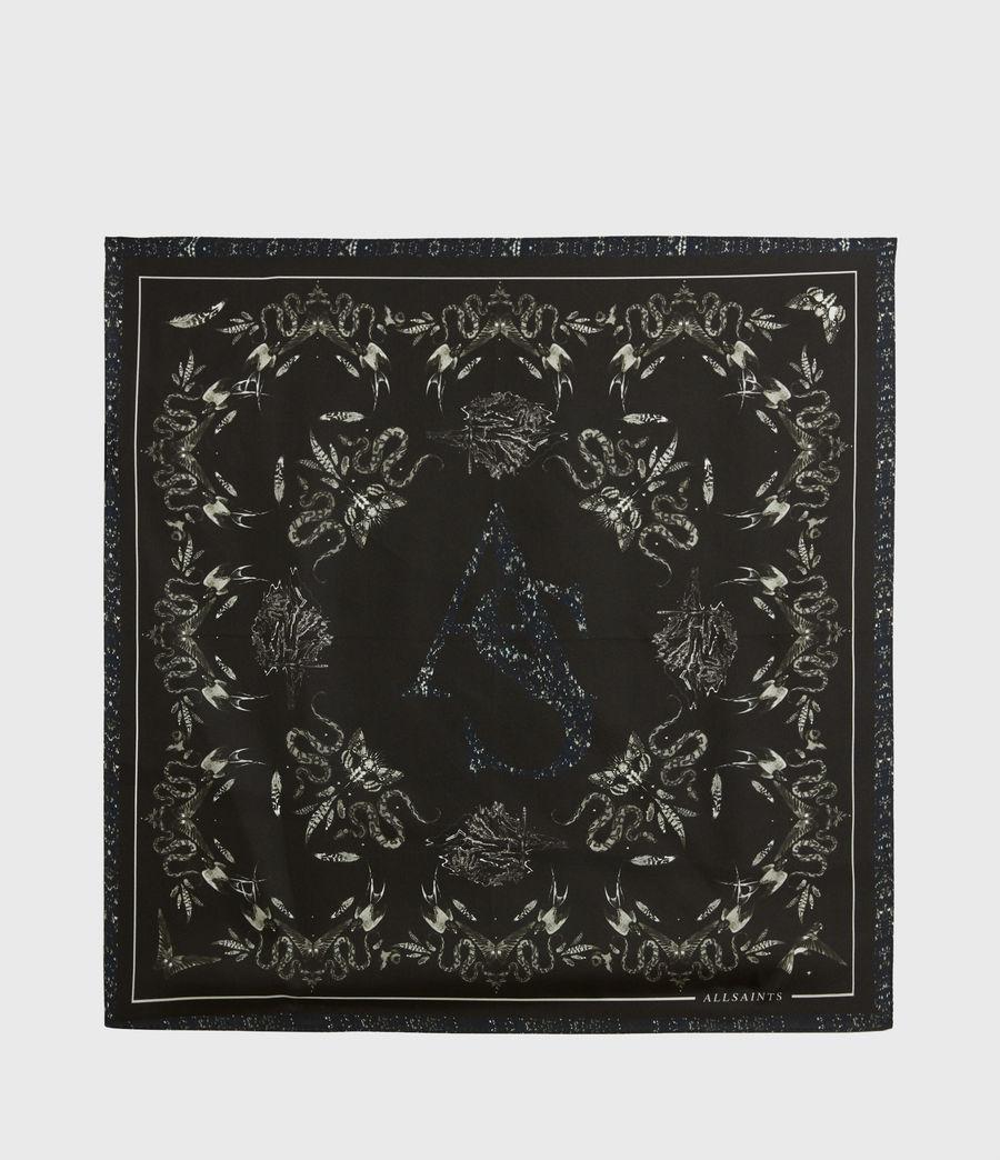 Women's Somnium Silk Bandana (black) - Image 5