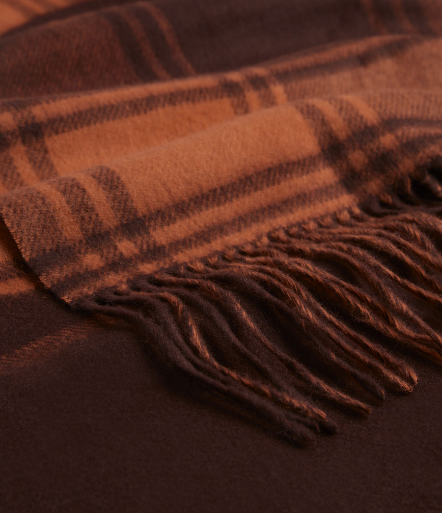 Womens Phoenix Wool Scarf (burnt_sienna_red) - Image 2