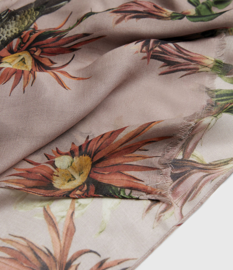 Damen Nolina Oblong Scarf (pink) - Image 3