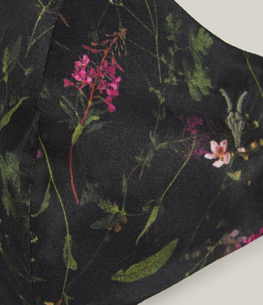 Women's Heligan Silk Blend Face Mask (black) - Image 2